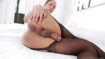Hot solo video with TS Milk - TS Playground
