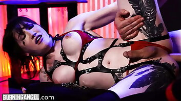 Trans BDSM Lena Moon Is Anally Destroyed In Her Sex Dungeon