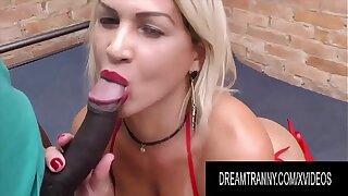 Dream Tranny - Hot Tgirls Suck Big Black Cocks Compilation Part 3