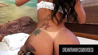 Dream Tranny - Sexy Tgirls Pleasuring Themselves Compilation